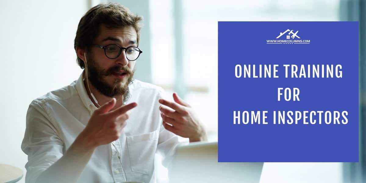 online training for home inspectors