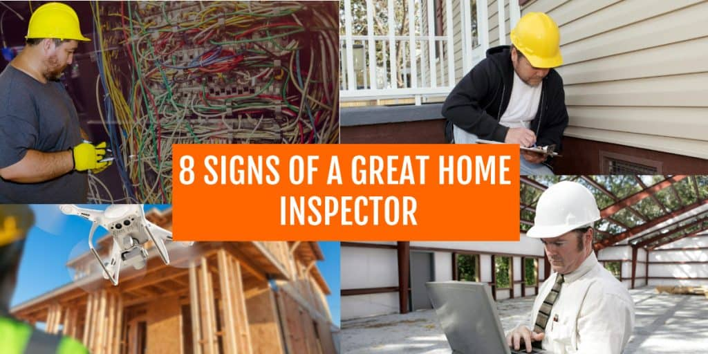 a good home inspector signs