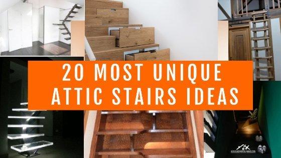best attic stairs ideas