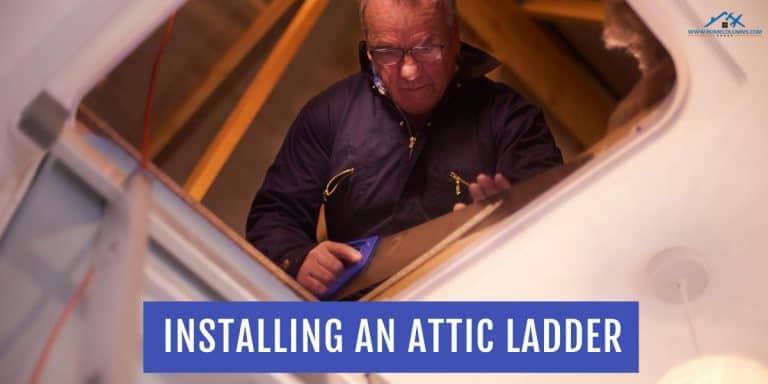 attic ladder installation guide