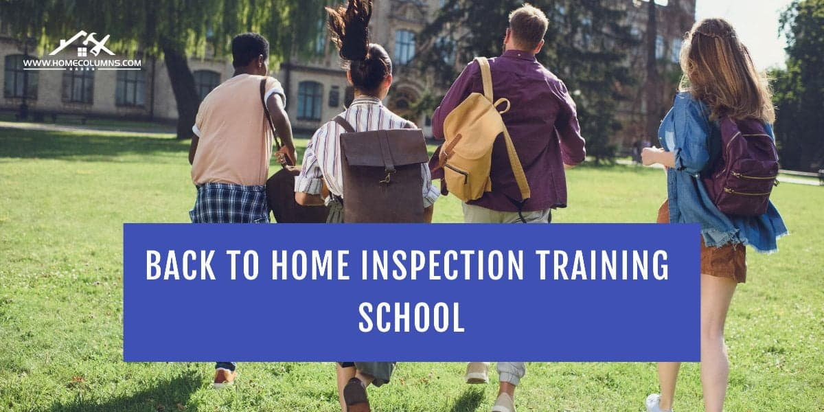 what are the best schools for becoming a home inspector