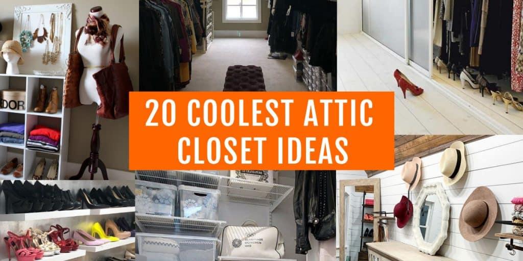 best attic closet ideas