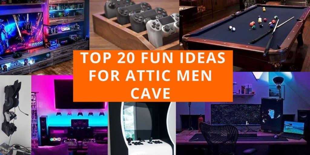 best attic game room ideas