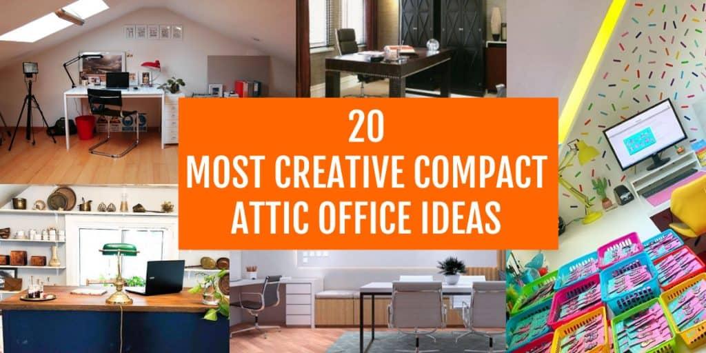 best attic office ideas