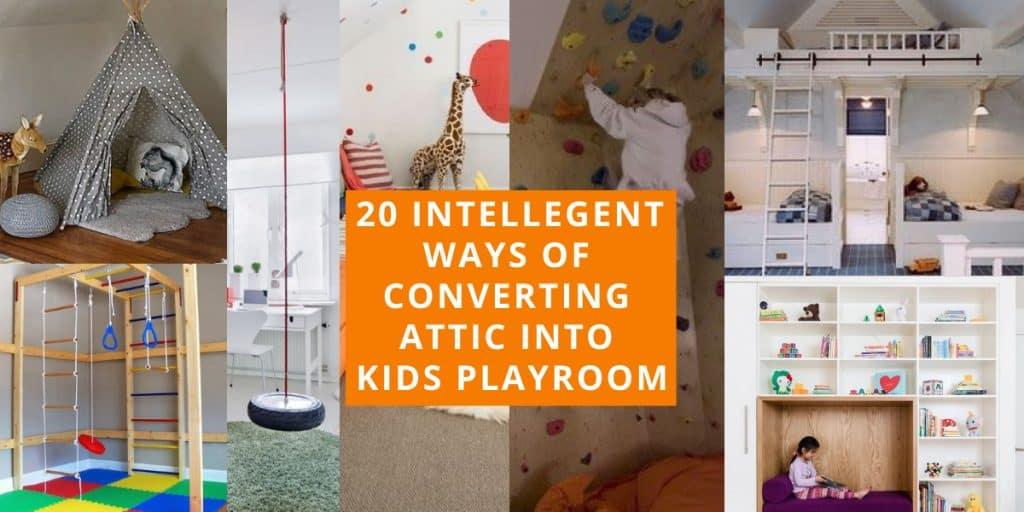 best attic playroom ideas