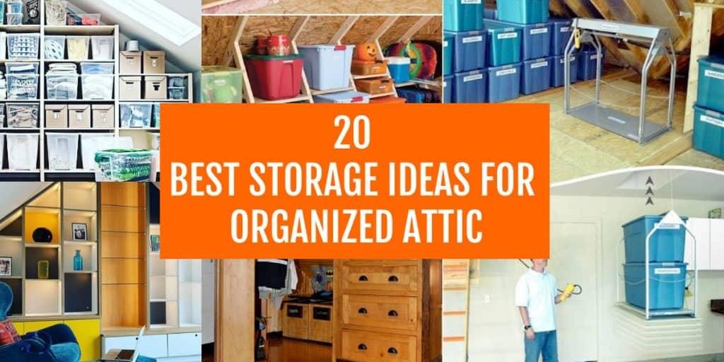 best attic storage ideas