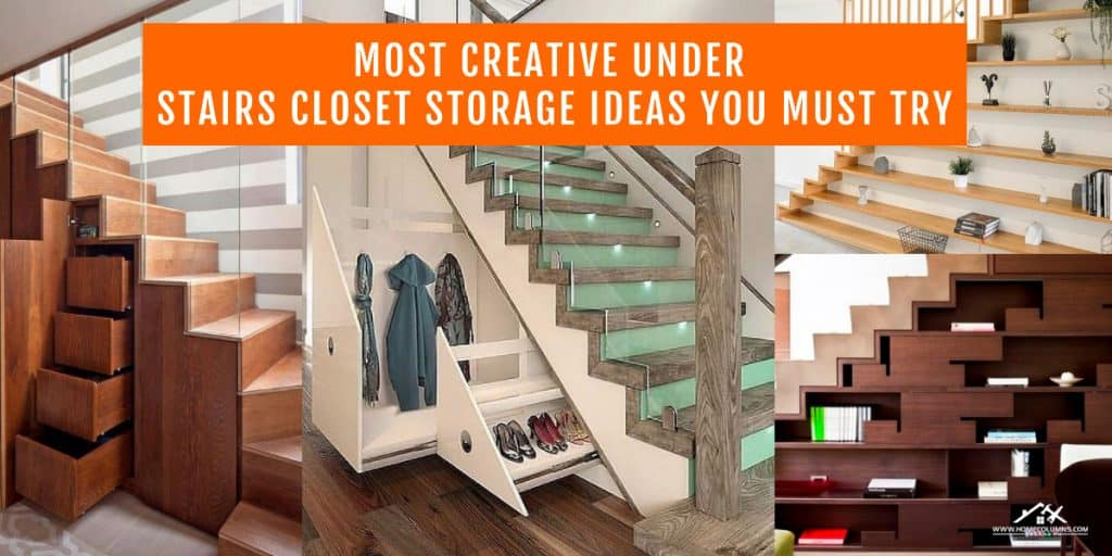 under stairs closet storage ideas