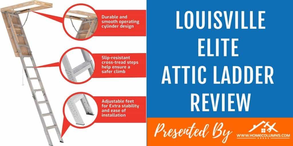 best aluminum attic ladder