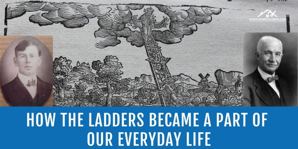 who invented the ladder